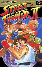 Street Fighter 2  Classic - Wall Poster 24 in x 15 in - Fast Shipping