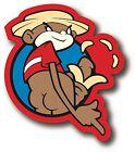 Super Troopers Johnny Chimpo Funny Car Bumper Vinyl Sticker Decal 1