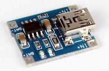 1x Mini USB 5V TP4056 LiPo 1A Lithium Li-ion Akku Batterie Lade Modul DIY Chip