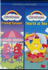 NEW 2DVD DOUBLE FEATURE // CARE BEARS // FRIENDS FOREVER + HEARTS AT SEA