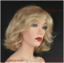 BRAVE THE WAVE Lace Front Vibralite  Monopart Wig Raquel Welch R1621 Glazed Sand