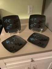 Set of 4 EVENTIDE BLOOM Salad Plates by THRESHOLD