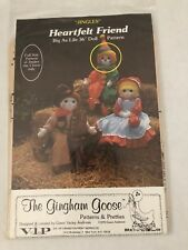 Heartfelt Friends Jingles the Clown Doll Pattern - The Gingham Goose