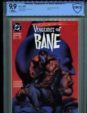 BATMAN: VENGEANCE OF BANE SPECIAL 1 CBCS 9.9! ORIGIN & 1ST BANE! NOT CGC 9.8!!!!