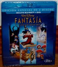 FANTASIA EDICION ESPECIAL COMBO BLU-RAY+DVD DISNEY PRECINTADO NUEVO (SIN ABRIR)
