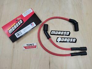 Moroso 28631 Harley Davidson Sportster XL 07-17 Spark plug wire set Ultra 40 Red