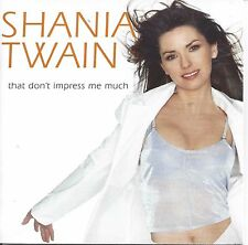 Shania Twain ‎– That Don't Impress Me Much   cd single in cardboard