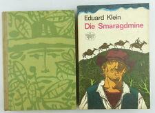 2 libri per bambini/libri gioventù la miniera di Smeraldo, avventura sul Rio Magdalena e890