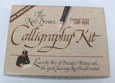 Vintage Ken Brown Calligraphy Kit 3078 by Hunt Speedball - Bonus Book Included