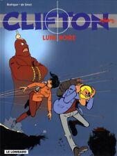 EO + DE MOOR + RODRIGUE + MAGNIFIQUE DESSIN ORIGINAL CLIFTON N° 19 : LUNE NOIRE
