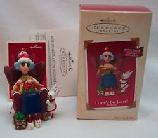 MAXINE I DON'T DO JOLLY! TALKING Hallmark Keepsake CHRISTMAS ORNAMENT 2002