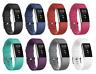 Ricambio Bracciale in Silicone Cinturino con Fibbia per Fitbit Carica 2