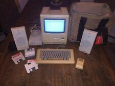 Vintage Apple Macintosh Mac Computer M001W 512K  System Bundle