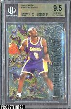 1996-97 Metal #181 Kobe Bryant Lakers RC Rookie BGS 9.5 w/ 10