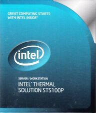 INTEL PASSIVE HEATSINK STS100P BXSTS100P FOR INTEL SERVERS - NEW AND SEALED!