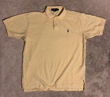 Men's Polo Ralph Lauren Yellow Polo Shirt Men's XL