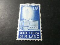 ITALIE - 1951 timbre 596 Foire Milan Palais PTT, neuf**