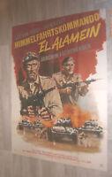A0 Filmplakat  HIMMELSFAHRTSKOMANDO EL ALAMEIN, LEE VAN CLEEF,JACK KELLY