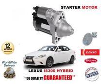 FOR LEXUS IS300 HYBRID 2013-> NEW STARTER MOTOR EO 28100-31071