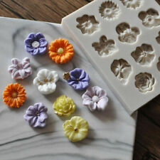 3D Flower Silicone Cake Decor Fondant Sugarcraft Mould Chocolate Baking Mold DIY