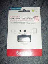 Sandisk Ultra Dual Drive USB 3.1 USB Type-C 32gb flash drive NEW SEALED UK