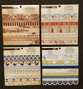Brand New MME 6x6 Scrapbook Paper Pads Double Sided 24 Sheets You Choose