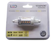 LAMPARA LED R7S 78 MM STARSON 8W 3000K