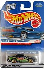 1998 Hot Wheels #665 First Edition #18 Mustang Cobra green with cosen tampo