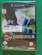 INTERNATIONAL SUPERSTAR SOCCER 3 NINTENDO GAMECUBE GC PAL-IT RARE NUEVO NEW