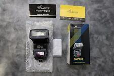FLASH SALE! Promaster 7400EDF TTL Flash for Sony and Minolta