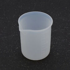100ml Transparent Silicone Laboratory Liquid Measuring Cup Tool Kitchen