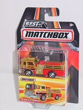 MATCHBOX 2016 IN SERIES '75 MACK CF PUMPER