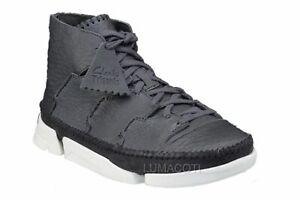 Mens Clarks Originals Trigenic Flow Bootie - Slate Leather, Size 9 [26019857]