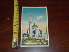 Postcard Rare Old Vintage Old National Shrine Immaculate Conception Washington