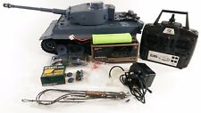 UPGRADED DUAL SOUND HENG LONG RADIO CONTROL SMOKE & SOUND GERMAN TIGER TANK