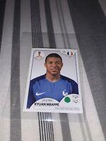 Kylian Mbappe World Cup 2018 Rookie Sticker