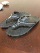 Womens New Balance Flip Flops Thongs Shoes New Size 7 Black