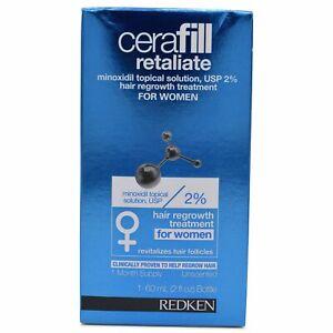 Redken Cerafill Retaliate Hair Regrowth Treat. For Women 2oz EXP 05/17 FREE SHIP