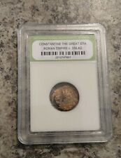 New ListingSlabbed Ancient Constantine the Great Coins c330 Ad