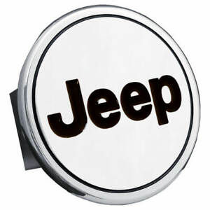 Jeep Name Tow Trailer Hitch Cover Plug