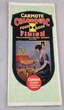Vintage Paint Brochure Carmote ColorQuic Finish Carpenter Morton Boston Varnish