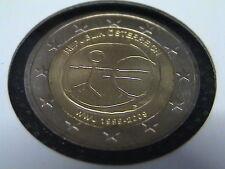 AUSTRIA EMU 2009 2 EURO COMMEMORATIVO EMU 10° ANNIVERSARIO UNIONE MONETARIA EUR.