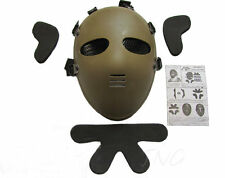 E.T. Masque De Protection Airsoft Paintball Full Face Protection Masque Mask