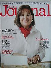INA GARTEN - THE BAREFOOT CONTESSA  December 2013 LADIES HOME JOURNAL Magazine