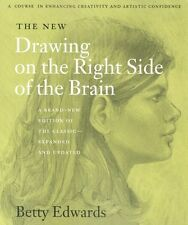 The New Drawing On The Right Side Of The Brain by Betty Edwards NEW
