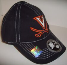 Virginia Cavaliers Ball Cap~StretchFit~Navy Blue~Raised Logo~NCAA-FREE Shipping