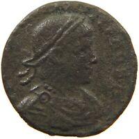 ROME EMPIRE CONSTANTINUS FOLLIS TWO SOLDIERS #s43 583