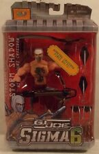 G.I. Joe Sigma 6 - Cobra Storm Shadow With Shouri Crossbow By Hasbro (MOC)