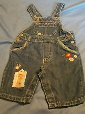 Genuine Baby Bib Overalls By Oshkosh-3 month/ girls