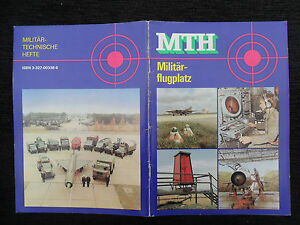 "5589 EAST GERMAN/DDR/GDR Cold War "" NVA magazine MTH MILITARY AIRFIELDS"" cir1987"